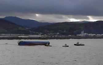 2016_02_03_Cargo ship Modern Express reaches the Port of Bilbao