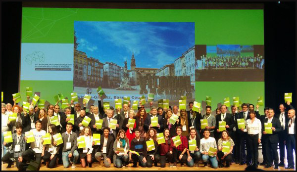 2016_04_27_The Basque Country becomes the European capital of sustainability during the 8th European Conference on Sustainable Cities