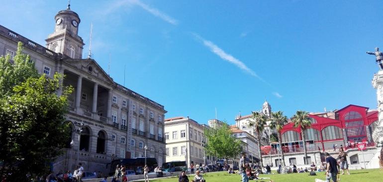 Palácio da Bolsa e Mercado do Bolhão